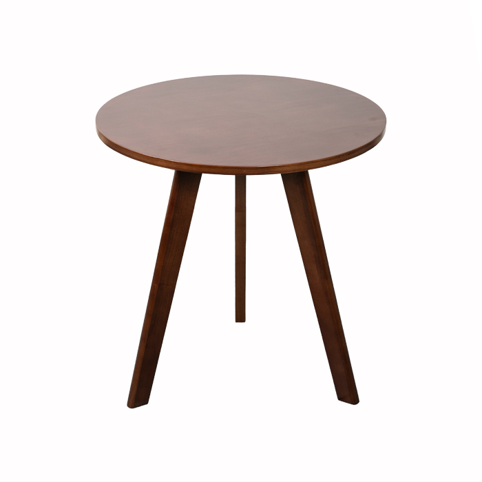 Round Wood Tea Table With Plywood Board Top XH-S003