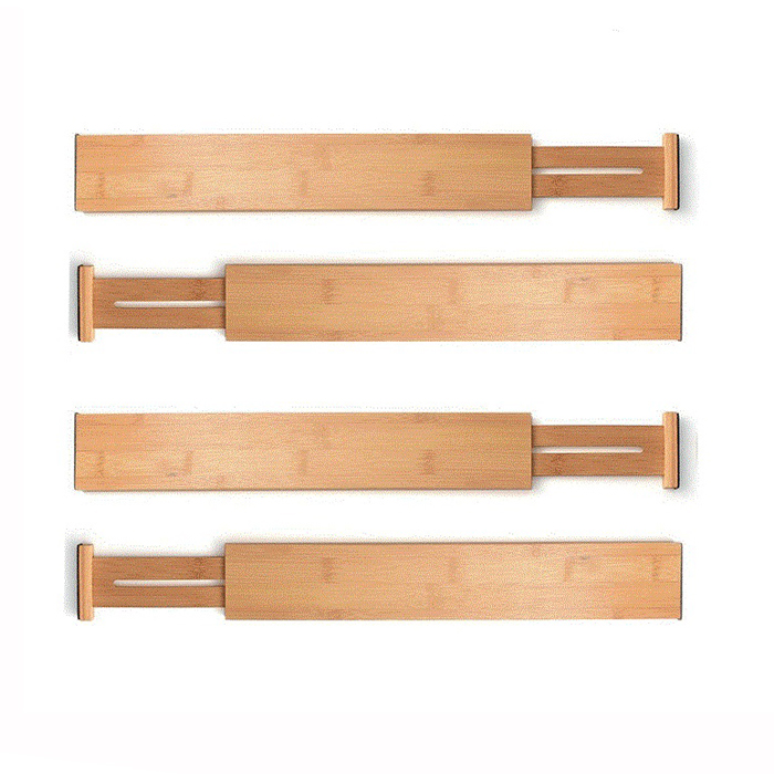 Natural Bamboo Drawer Dividers