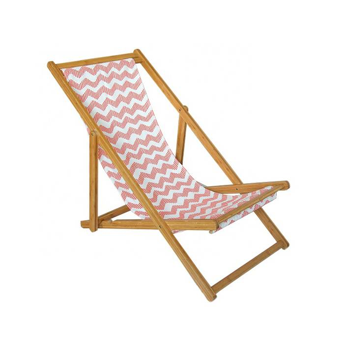 Folding Sling Chair Seat Outdoor Wood Chair    XH-X039
