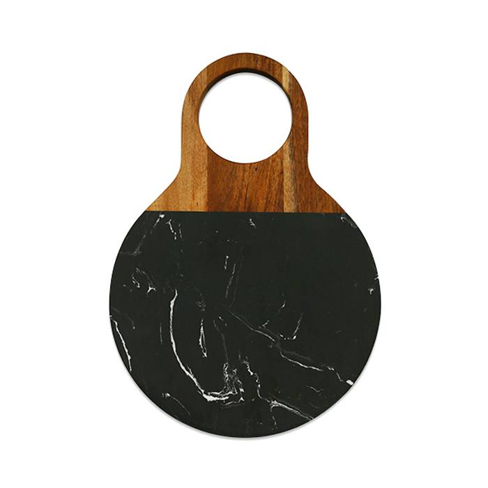 New Design Acacia Wood Marble Cutting Board    XH-G047