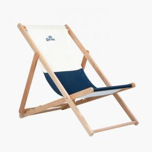 Wooden Beach Lounge Deck Chairs For Sale    XH-X045