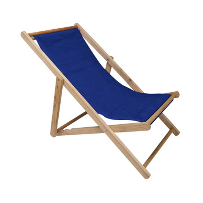 Outdoor Wooden Foldable Beach Sling Chair XH-X049