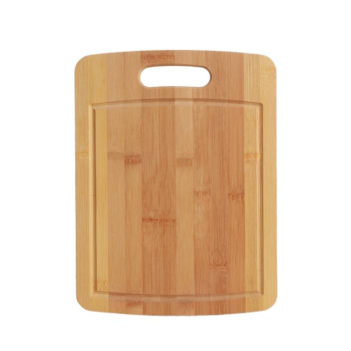 Natural Bamboo Cutting Chopping Board With Handle  XH-A065