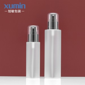 wholesale new  product cosmetic packaging set 100ML 200ML spray plastic bottle
