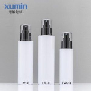 Buy wholesale noble cosmetic bottles set 100ML 150ML 200ML pet plastic bottle
