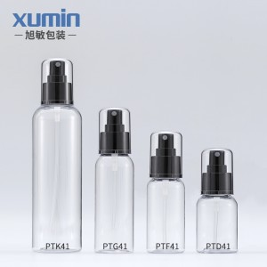 Wholesale high quality cosmetic packaging 50ML 75 ML 100 ML 250ML plastic pet bottle