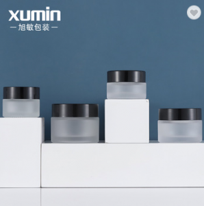 Wholesale cosmetic packaging  containers 20g 30g 50g glass cream jar for 15g cosmetic cream jars