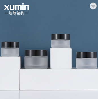 Wholesale cosmetic packaging  containers 20g 30g 50g glass cream jar for 15g cosmetic cream jars Featured Image