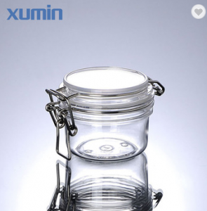 Luxury cosmetic packaging jar 30g 50g with glass cosmetic jar