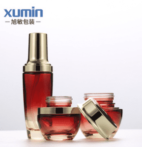 cosmetic packaging 30g 50g glass jars and bottles 30ml 50ml 100ml glass lotion bottle