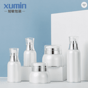 Wholesale jar cosmetic 30g 50g acrylic lotion pump bottle 30ml 100ml for acrylic jars