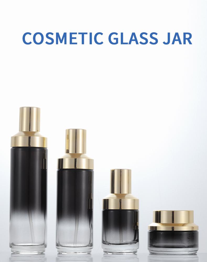 plastic spray bottle glass jars with lid xumin