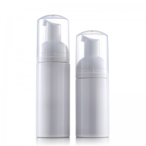 new product launch in china   facial cleanser container foam bottle mousse bottle 100ML 150ML  2oz pet plastic bottle