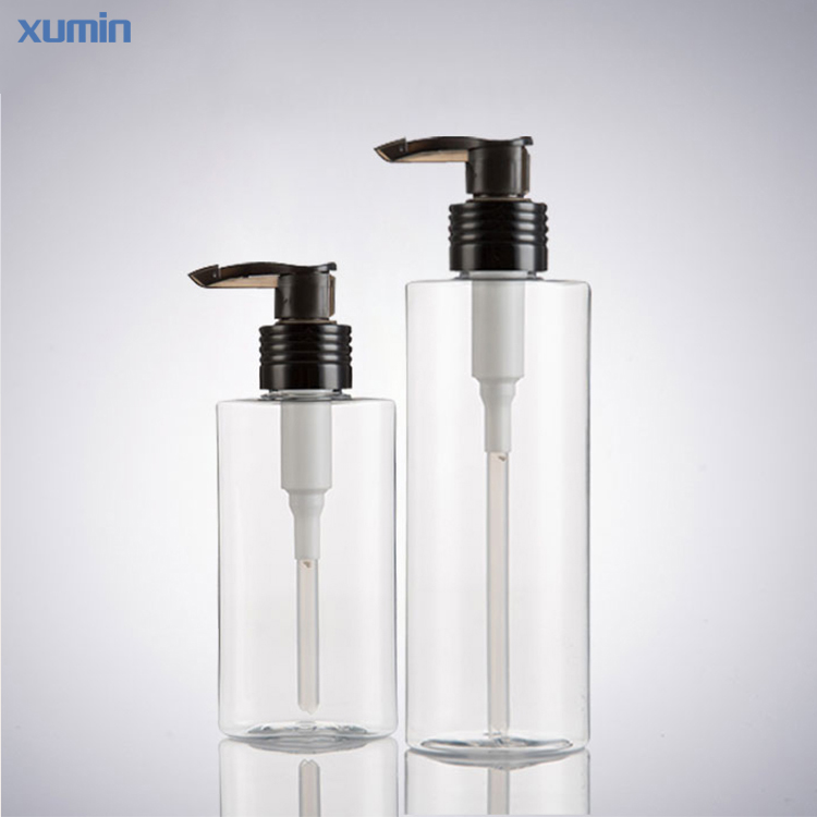 New Arrival Black Pump Caps Soap Shampoo Pet Bottle 120Ml 200Ml Plastic Pet Bottle