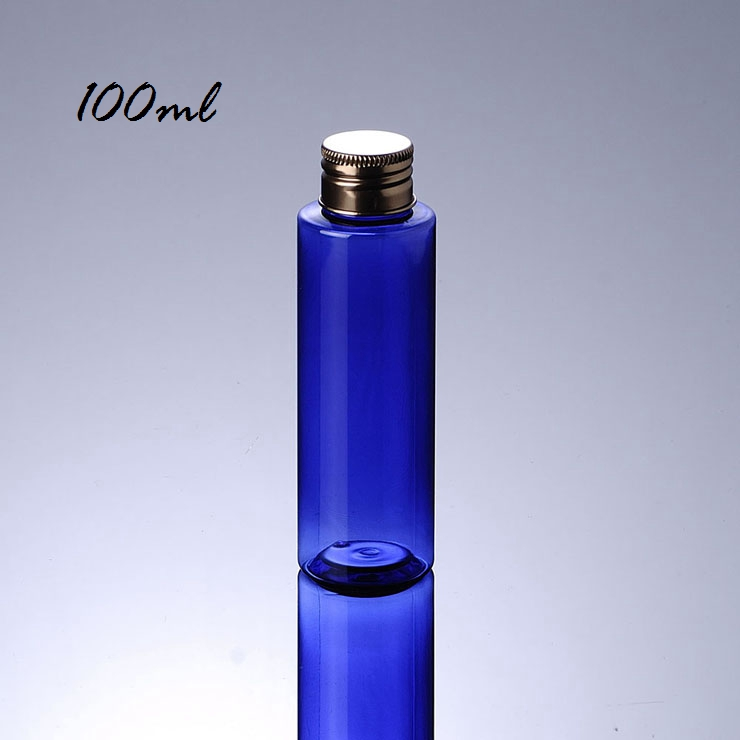 High Performance Bronze Cover Screw Cap 100Ml 200Ml 250Ml Cosmetic Pet Bottle