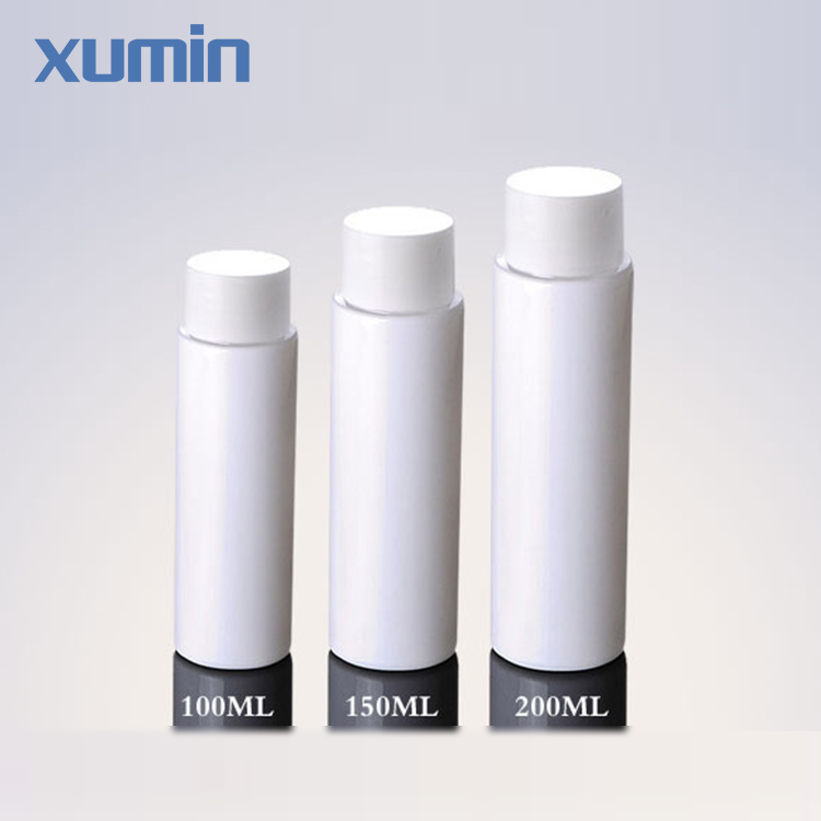 Bulk wholesale Small Order Allow White Plastic Pet Bottle 100 120 200ml empty bottles for hair oil