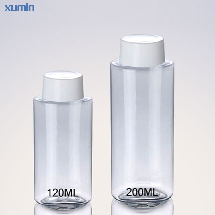 wholesale Price White Screw Cap 120Ml 200Ml Plastic PET bottle