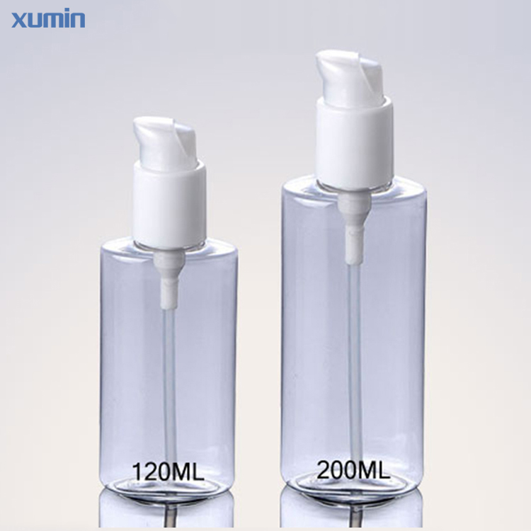 No Leak Design Cap Low Price Clear 120Ml 200Ml Plastic Pet Bottle