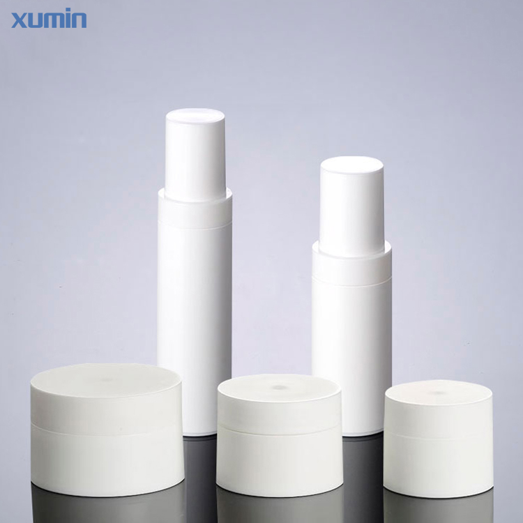 Fashion Packaging 10G 15G 30G 50G Cosmetic Jar PP Airless Bottle 50Ml Cosmetic PP Bottle