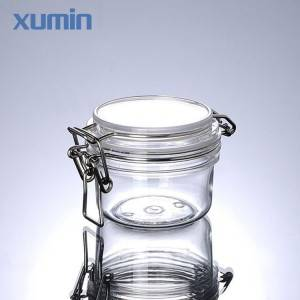 Luxury cosmetic packaging jar 30g 50g with plastic cosmetic jar
