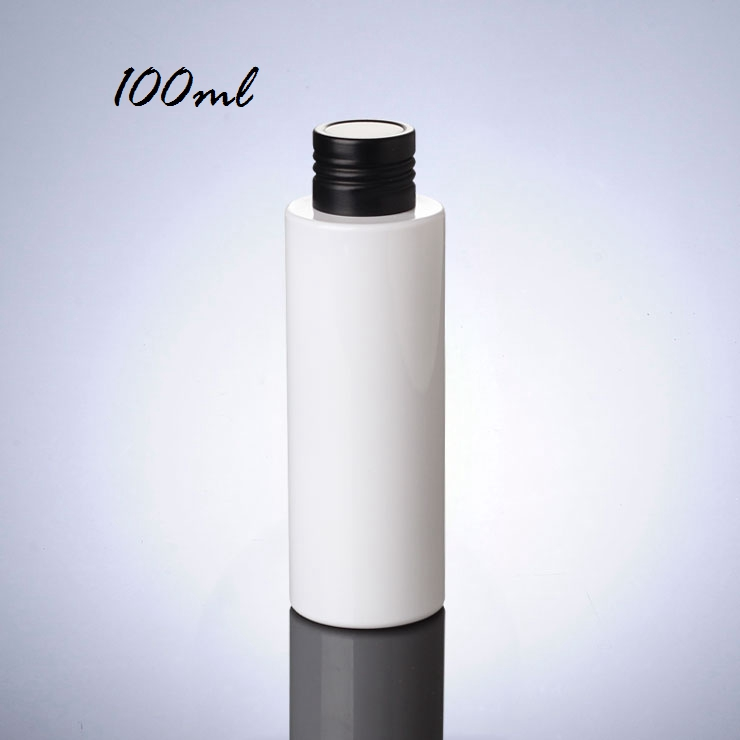 Doubler Stopper Design White Plastic Pet Bottle Black Cap Manufacturers Best Price 100Ml 150Ml 200Ml Pet Bottle