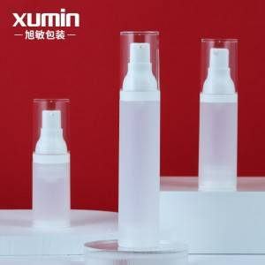 30ml 50ml 20ml lotion pump bottle Wholesale white cosmetic airless pump bottle