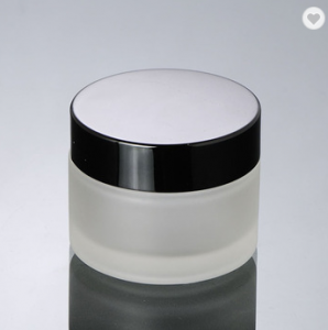 Frosted glass jar Cosmetic Container 15G 20G 30G 50G Glass Cosmetic cream Jar
