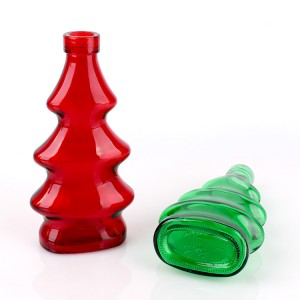 300ml colorful christmas essential oil glass bottle