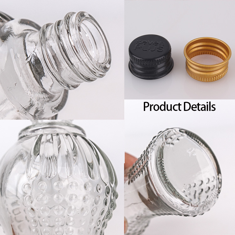 2017 Latest Design10ml Set Of 7 Black Glass Spray Bottles For Essential Oils -