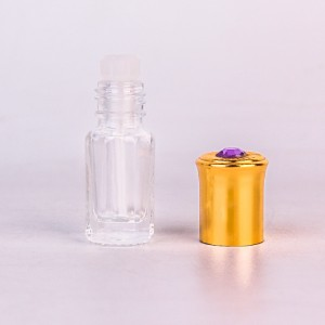 Wholesale min 4ml glass bottle for essential oil