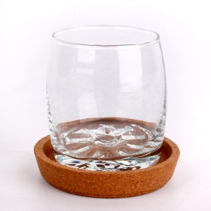Wholesale new fashioned straight crystal water tea glass cup 200ml