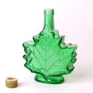 Factory Price 50ml 100ml 250ml canada maple syrup glass bottle with plastic screw cap