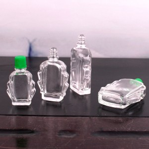 Wholesale 4ml 7ml 11ml 14ml safflower oil glass bottle