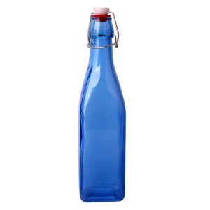 250ml 500ml 1000ml Swing top glass dressing bottle cooking oil glass bottle for kitchen glassware