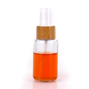 high quality boston round 50ml perfume glass bottle