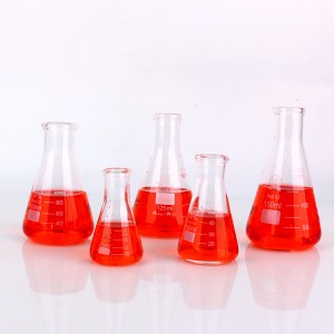 Malaysia High Quality Laboratory Glass Conical Flask for Lab  Medical Usage