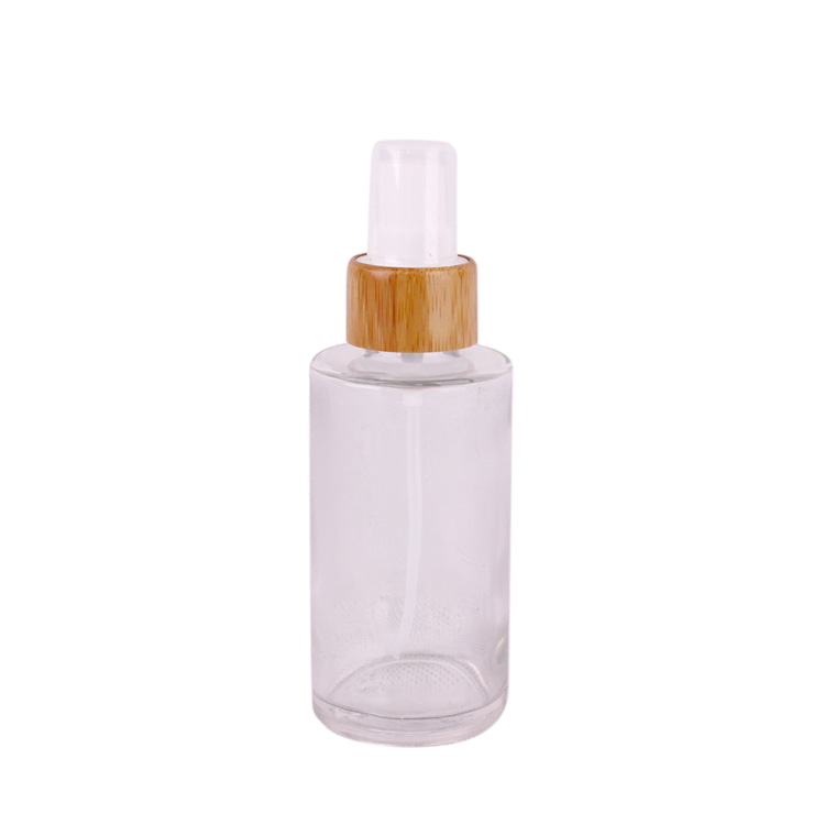 100ml perfume glass bottle with spray mist pump Featured Image