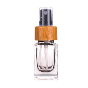 20ml empty square small capacity perfume glass bottle