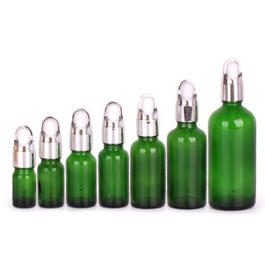 Glass essential oil bottle dropper glass bottle manufacturer