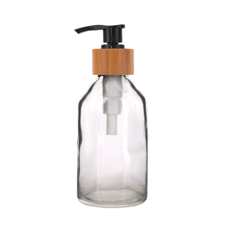 115ml High quality Clear Glass Liquid Soap Dispenser with Pump Featured Image