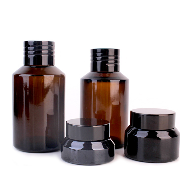 New Delivery for Glass Storage Jar With Metal Lid -