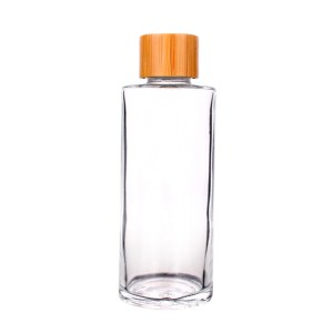 50ml 85ml 105ml 130ml cosmetic glass bottle essential oil bottle with dropper
