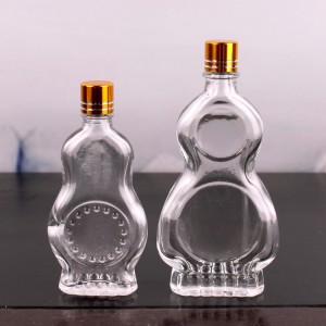 9ml 17ml Small Mouth Safflower Oil Glass Bottle Wind Medicated Oil Bottle For Health With Small Cap