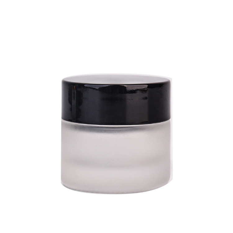 18 Years Factory Glass Candle Jar Black -