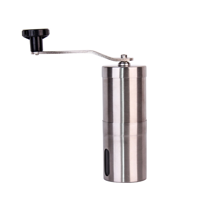 stainless steel hand crank grinding ceramic coffee grinder tools
