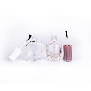 6ml 11ml 13ml 14ml nail polish glass bottle with brush cap