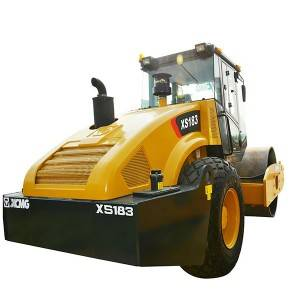 Hydraulic Single Drum Road Roller XS183