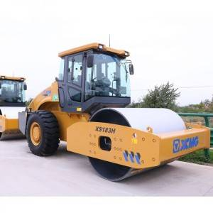 Hydraulic Single-Drive road Roller XS183H