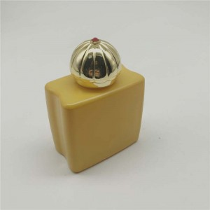 100ml middle east royal perfume bottle with royal crown cap