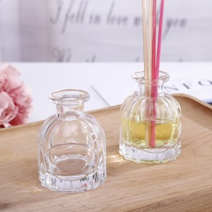 45ml clear essential oil diffuser aroma glass bottle for aromatherapy